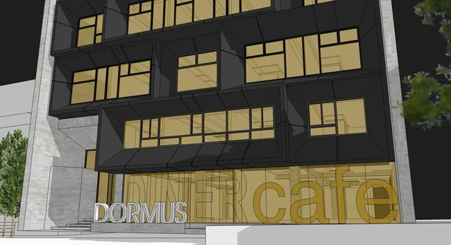 myDorm DORMUS Facade