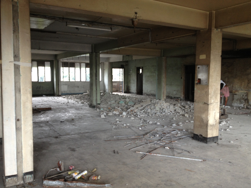 DORMUS Construction Update: Demolition (30 October 2012)