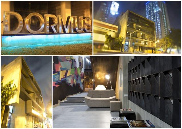 DORMUS Facade and Lobby