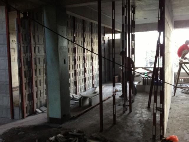 Renovation 19 December 2012