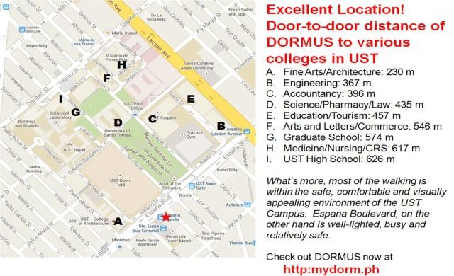 DORMUS Manila Location